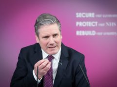 Sir Keir Starmer said his priority is to get children back into classrooms (Stefan Rousseau/PA)