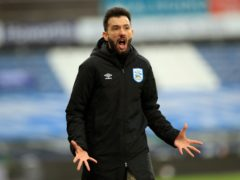Huddersfield manager Carlos Corberan saw his side suffer another defeat (Mike Egerton/PA)