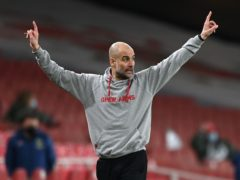 Manchester City manager Pep Guardiola has welcomed the prospect of fans returning but warned of a long road ahead (Shaun Botterill/PA)