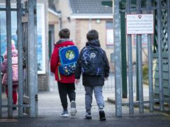 A Government scientific adviser has said keeping windows open and improving ventilation in schools is much more effective at reducing coronavirus transmission than asking young children to wear face masks (Jane Barlow/PA)