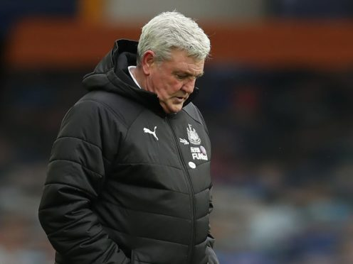 Newcastle head coach Steve Bruce remains confident the Magpies can drag themselves out of relegation trouble (Clive Brunskill/PA)