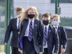 Schools minister Nick Gibb has said face coverings and asymptomatic Covid-19 tests in secondary schools will not be compulsory when pupils in England return to class next month (Danny Lawson/PA)