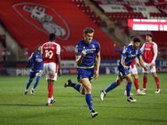 Ryan Yates scored the only goal for Forest at Rotherham (Martin Rickett/PA)