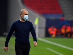 Pep Guardiola has called on his players to make more of their dominance (PA Wire via DPA)