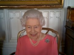 The Queen urged people to think about others in deciding whether to accept the Covid-19 vaccine (Buckingham Palace/PA)
