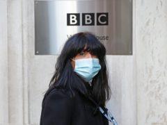 Claudia Winkleman arrives at BBC Wogan House (Jonathan Brady/PA)