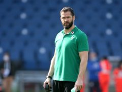 Andy Farrell celebrated the first away win of his reign (Marco Iacobucci/PA)