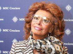 Sophia Loren (Geoff Caddick/PA)