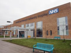 The Norfolk and Norwich University Hospital in Norwich was visited by inspectors (Jeremy Durkin/PA)