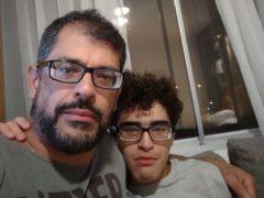 Nelio Salles De Siqueira said hotel quarantine is damaging the health of his son, Caique Pires Salles (Nelio Salles De Siqueira/PA)