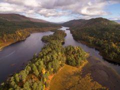 Loch Beinn a Mheadhoin in Glen Affric, Scotland (scotlandbigpicture.com)