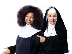 Whoopi Goldberg and Jennifer Saunders (Sister Act)