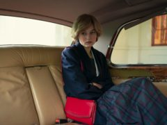 Emma Corrin as Princess Diana in series four of The Crown (Netflix/PA)