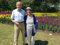 John and Patricia Lillistone (Nottinghamshire Police/PA)