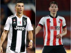 Cristiano Ronaldo and Sander Berge figure in today's transfer gossip (Martin Rickett/Nick Potts/PA)