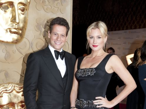Ioan Gruffudd has filed for divorce from Alice Evans (Mark Large/PA)