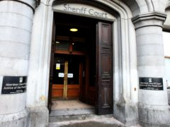 The changes are being introduced at Aberdeen Sheriff Court (Andrew Milligan/PA)