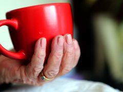 The survey suggests many elderly people have broken the rules on socialising indoors since having the coronavirus jab (PA)