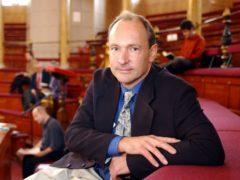 Sir Tim Berners-Lee (World Wide Web Consortium/PA)
