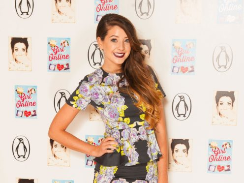 Zoe Sugg is expecting a daughter in September (Dominic Lipinski/PA)