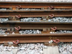 Network Rail will lay 23 miles of new track as part of the project (Lynne Cameron/PA)