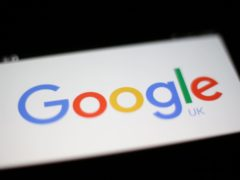 A Google logo (Yui Mok/PA)