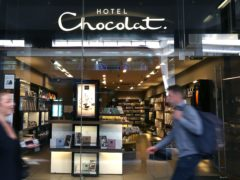 Hotel Chocolat has seen a strong boost in online sales (Philip Toscano/PA)