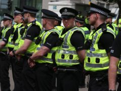 The police chief 'riotous behaviour' will not be tolerated (PA)