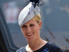 Zara Tindall gave birth to her son on the floor of her bathroom (Hannah McKay/PA)
