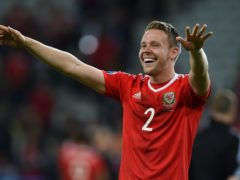 Chris Gunter is set to play his 100th game for Wales on Saturday (Joe Giddens/PA)