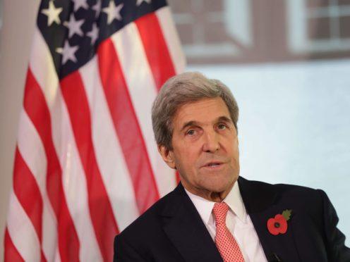 US secretary of state John Kerry (Yui Mok/PA)