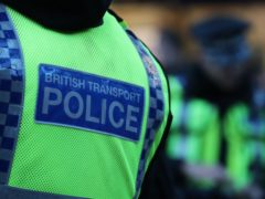 British Transport Police confirmed four people have been charged over a stabbing at a railway station (Andrew Milligan/PA)