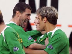 Former Celtic midfielder Stillian Petrov (right) says ex-team-mate Roy Keane will not have time to carry out a lengthy rebuild of the Parkhead job if he takes over the Hoops job (Steve Welsh/PA)