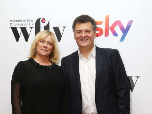 Steven Moffat and Sue Vertue are producing the supernatural thriller The Devil's Hour (Gareth Fuller/PA)