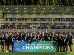 New Zealand are the current women's world champions (Brian Lawless/PA)
