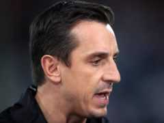 Gary Neville believes United will find themselves in a battle for the top four (John Walton/PA)