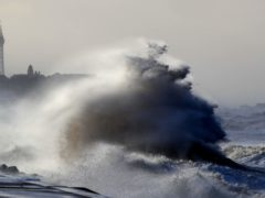 Winds of up to 70mph are predicted for coastal areas of England and Wales from Wednesday (Peter Byrne/PA)