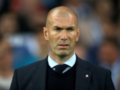 Zinedine Zidane insists Real Madrid will keep fighting (Nick Potts/PA)