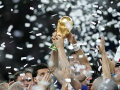 The football associations of England, Wales, Scotland, Northern Ireland and the Republic of Ireland are considering a joint bid to host the 2030 World Cup (Martin Rickett/PA)