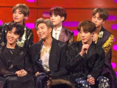 BTS fans aimed criticism at the Grammy Awards after the Korean superstars lost out to Lady Gaga and Ariana Grande at the ceremony (Tom Haines/PA)