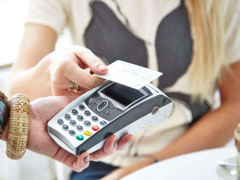 Chancellor Rishi Sunak has said the contactless payment limit will increase (Barclaycard/PA)