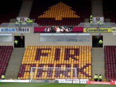 Livingston visit Fir Park (jane Barlow/PA)