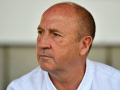 Accrington boss John Coleman has injury concerns (Anthony Devlin/PA)