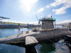 The Trident system is currently run from Scotland's west coast (James Glossop/The Times/PA)