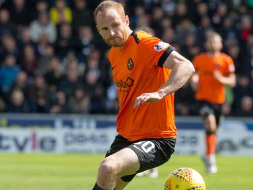 Managerless Aberdeen will be an unknown quantity sayd Dundee United's Mark Reynolds (Jeff Holmes/PA)