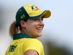 Australia star Ellyse Perry has signed for Birmingham Phoenix in The Hundred. (Gareth Fuller/PA)