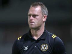 Newport County manager Michael Flynn (Nick Potts/PA)