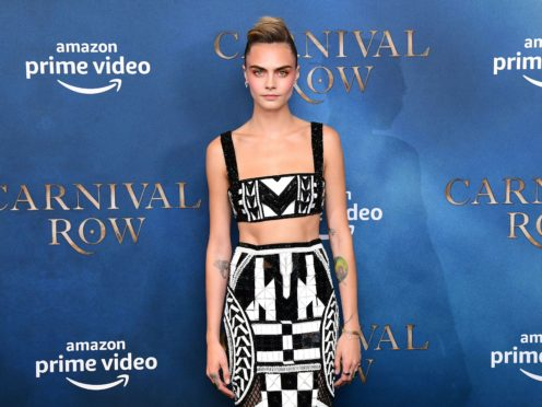 Cara Delevingne said a struggle with her sexuality left her with suicidal thoughts (Ian Wes/PA)