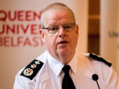 PSNI Chief Constable Simon Byrne has warned of the impact of funding issues (PA)