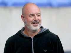 Keith Hill was pleased with Tranmere's performance (Richard Sellers/PA)
